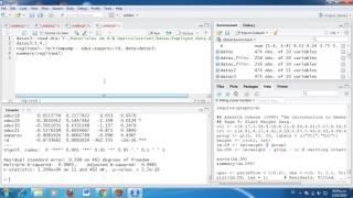 Tesis & Econometría: Regresión lineal en el programa R o R Studio