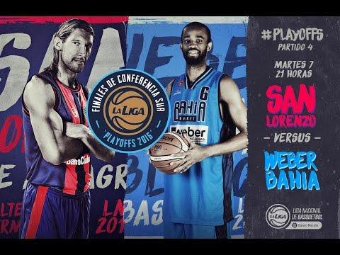 Liga Nacional de Básquet  San Lorenzo vs  Bahia Basket   #LaLigaEnTyC
