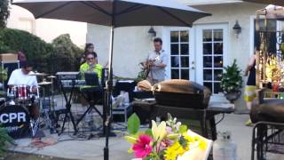 "Vernon Baros JR ""VJ"" Jamming with Jesus Crew (Eddie G) - Song = Because He lives.  4/27/13"