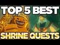 The TOP 5 BEST Shrine Quests In Zelda Breath Of The Wild   Austin John Plays