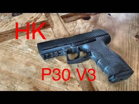 HK P30 V3 LE - German Polymer Excellence You Can Concealed Carry!