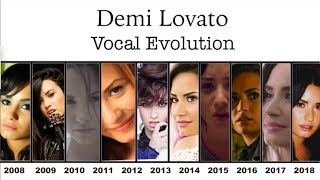Demi Lovato - HIGH NOTE EVOLUTION (2008-2018, Bb4-Bb5)