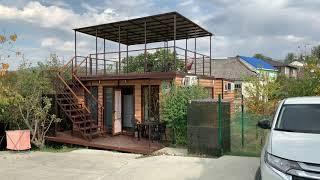 Модульный дом с плоской крышей. Zyland STR