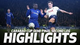 Download Video HIGHLIGHTS | Chelsea 2-1 Spurs (2-2 on agg, 4-2 on pens) | Carabao Cup semi-final second leg MP3 3GP MP4