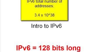 1. Intro to IPv6