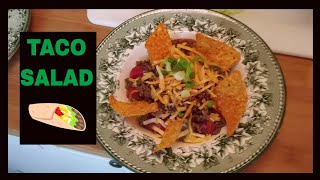 Toco's & refried beans