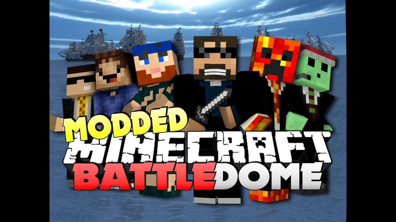 Minecraft Modded Battle Dome Wiener Thief Boat W
