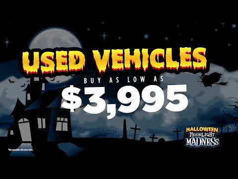Halloween Moonlight Madness is Here!
