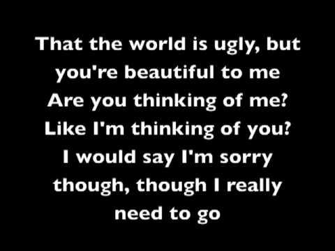 My Chemical RomanceThe World is Ugly Lyrics