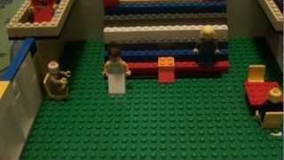 my new Lego Titanic Grand Staircase MOC