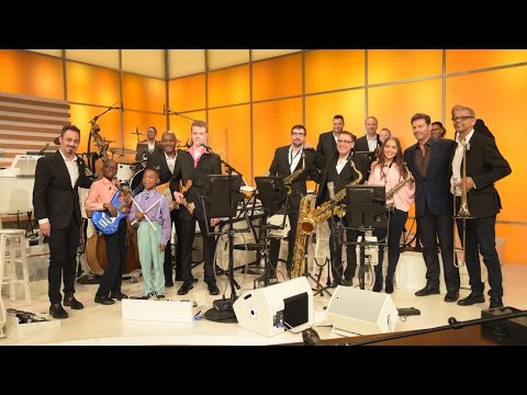 Kids Join the Harry Connick Jr Band!