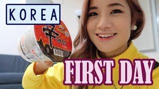 First Day in KOREA, SEOUL | Pokemon Krispy Kreme!! | ft. Sunnydahye | KimDao in KOREA