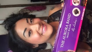 aurora headband product review how to