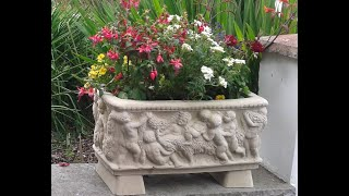 Cast Stone Garden Planters For Sale In The Uk.