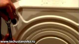 Установка і підключення пральної машини. Інструкція