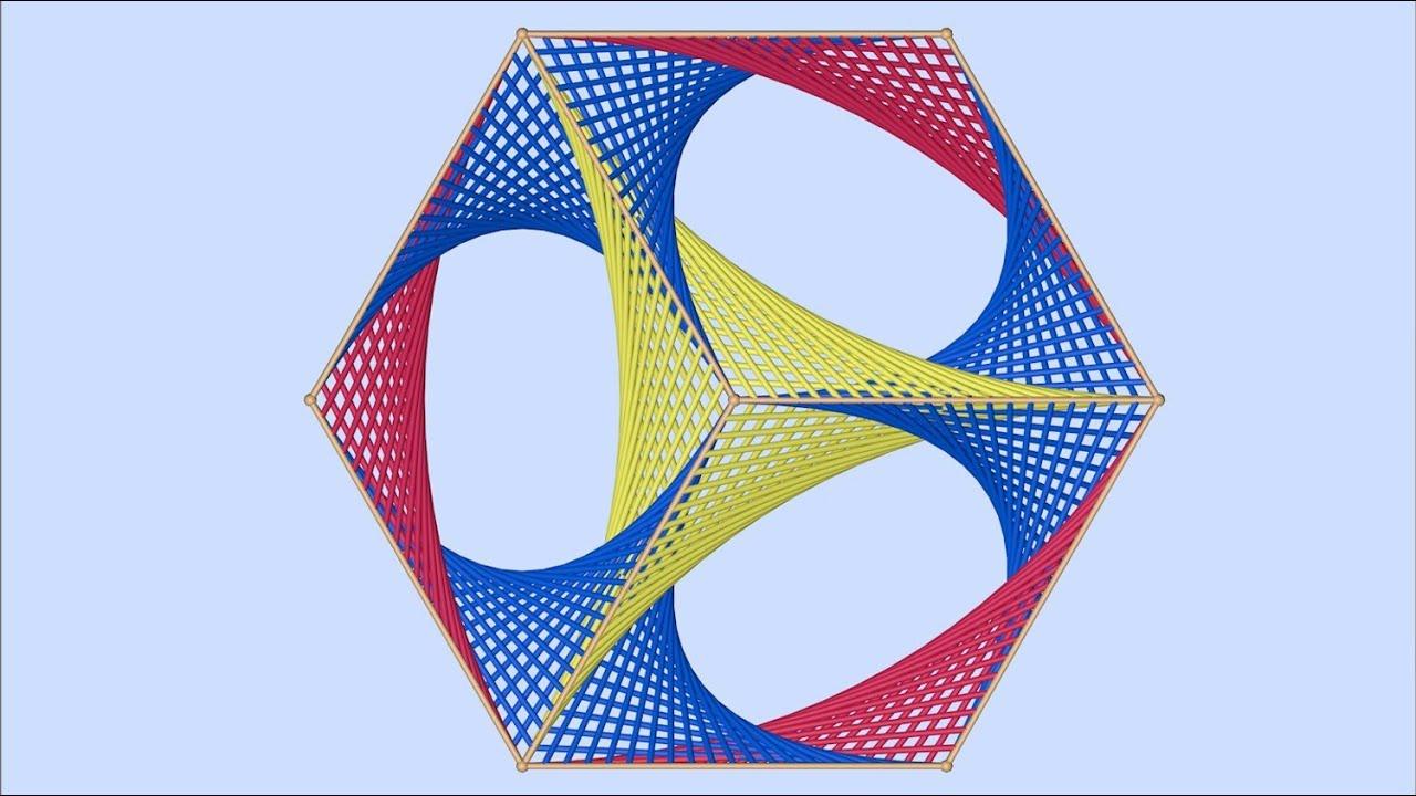Parabolic Art Template Design