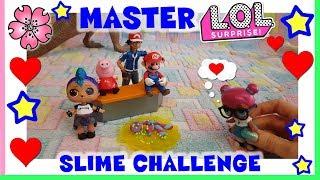 Baixar MASTER LOL SURPRISE Butter Slime CHALLENGE Melmito By Lara e Babou