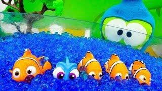 Видео для детей. Ам Ням на рыбалке. Развивающее видео для детей. Видео игрушки.