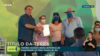 #AoVivo: Entrega de Títulos de Propriedade Rural no Mato Grosso do Sul