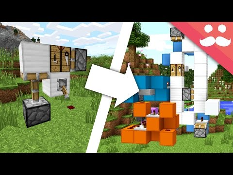 Making SIMPLE Redstone Builds COMPLICATED!