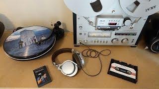 Forgotten Audio Formats: DCC & Elcaset
