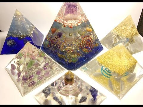 Some of my orgone pyramids I have created. Enjoy.