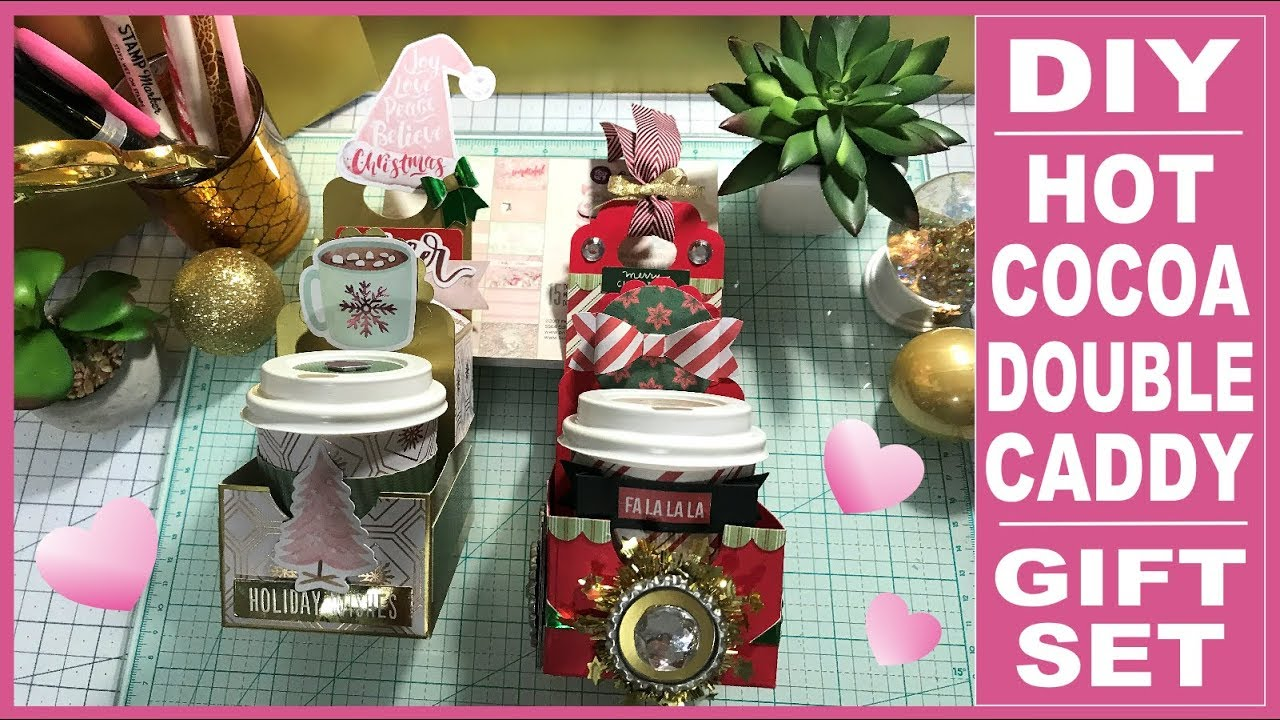 Hot Cocoa Gift Set Series - DIY Double Hot Cocoa Caddy - Inexpensive ...