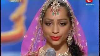Ukraine's Got Talent   Bollywood Mujra by Svetlana Tulasi
