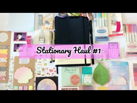 HUGE Stationary Haul! ✨