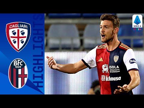 Cagliari Bologna Goals And Highlights