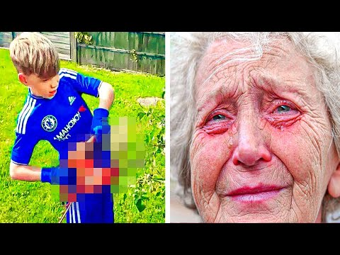 Download Elderly Woman Catches 4 Boys In Her Yard, Cries When She Realizes What They're Doing