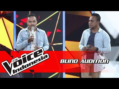 Patrick dan Albert - Inikah Cinta | Blind Auditions | The Voice Indonesia GTV 2018