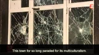 Aftermath of jews attacked in Sarcelles France of July 21 2014