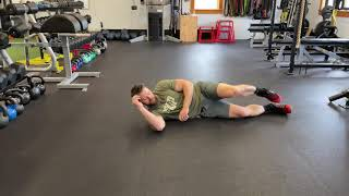"""Sleeper"" SMFR - Soft Tissue w/lacrosse ball for shoulder tightness"