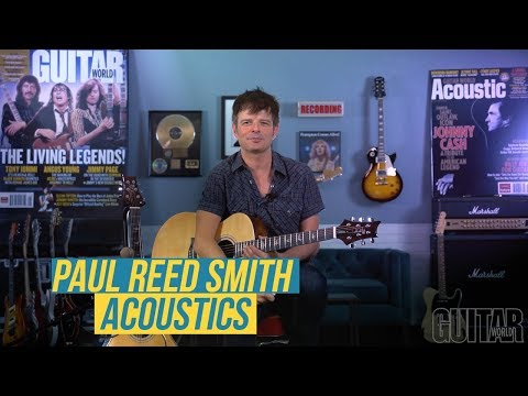 Watch Paul Riario Demo Two New SE Acoustics from PRS Guitars