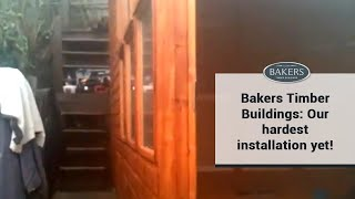 Bakers Timber Buildings: Our Hardest Installation Yet!
