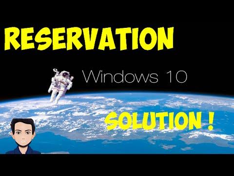 [FR] Tuto #11 Solution pour la réservation de Windows 10 ...