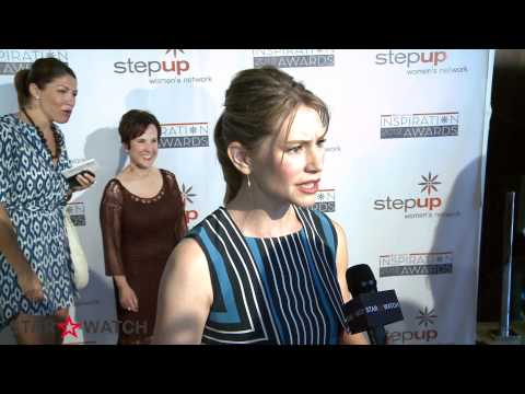 Meredith Monroe red carpet  at 9th annual Inspiration Awards