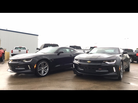 2017 Camaro 1LT VS 2LT - Comparison