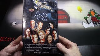 Firefly The Verse Box Opening Part 1