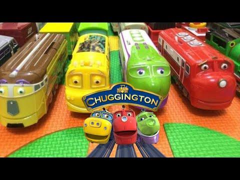 【oyuncak tren】İngilizce Çocuk Şarkıları ile 14 Chuggington Trenler (01041 z tr)