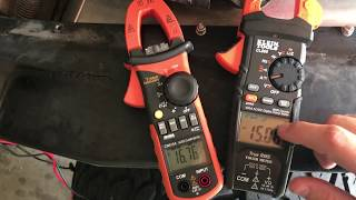 SBM: Multi Meter Head to Head Klein Tools CL800 vs Harbor Freight Ames CM610A