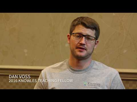 Voss Fellowship Testimonial