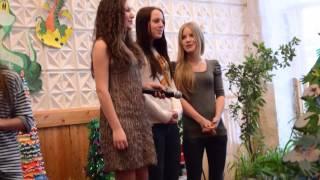 Новогодний КВН школа 30 Архангельск(В нашей школе прошел новогодний КВН, участвовали команда учителей