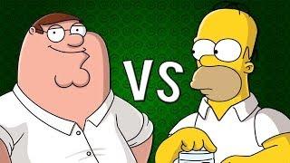 HOMER VS PETER | Zarcort y Alex Keyblade YouTube Videos