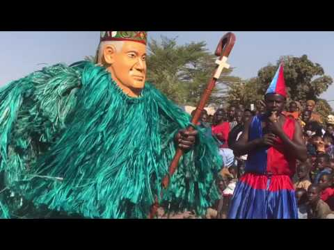 쿨레칸 | Burkina Faso Travel | Bobo Mask Dance in Bobo Dioulasso 2017