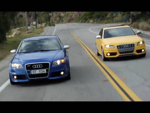 Audi S Vs Audi RS YouTube - 2005 audi rs4