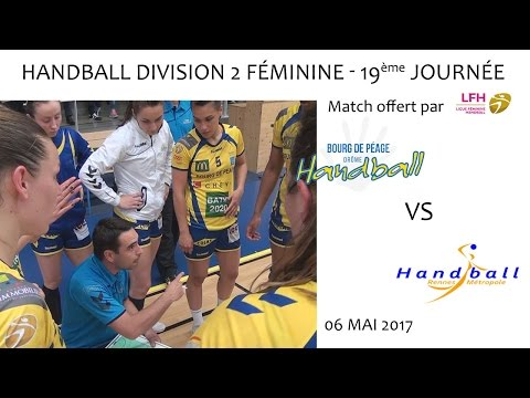 Handball D2F 19ème journée BDP vs RENNES 06 05 2017