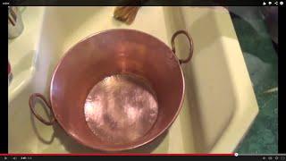 Repeat youtube video Como limpiar el cobre