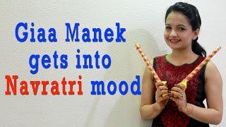 #Navratri spl : Giaa Manek gets into Navratri mood